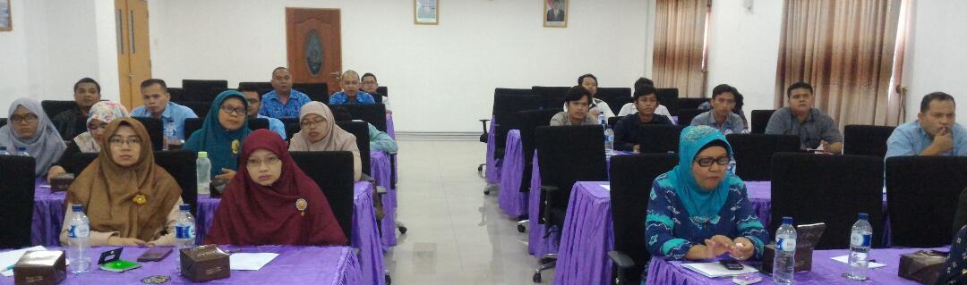 Peserta pelatihan penulisan jurnal internasional bereputasi