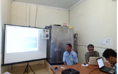 FAKULTAS TEKNIK UNIVERSITAS MUHAMMADIYAH SUMATERA UTARA GELAR PELATIHAN TRAINING DATA ACQUISITION LABORATORIUM PRESTASI MESIN