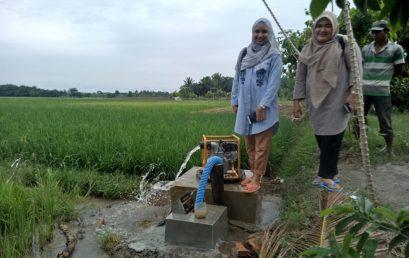 Fakultas Teknik UMSU,  Kembangkan Irigasi Air Tanah Dangkal