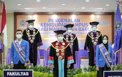 3.917 Mahasiswa Ikuti PKKMB UMSU 2020