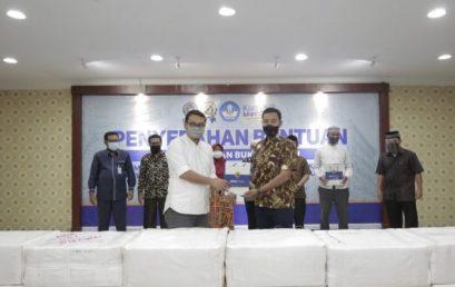 UMSU Serahkan Bantuan Komputer ke SMP di Medan