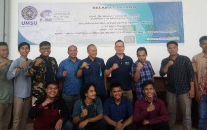 Teknik UMSU, Melangkah Untuk Robotika Indonesia