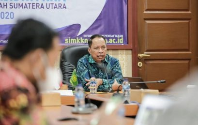 Rektor UMSU Lepas 2770 Mahasiswa KKN Mandiri Daring Tahun 2020