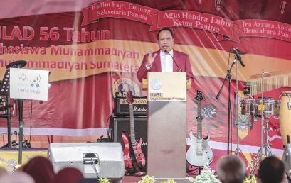 Rektor UMSU Ajak Mahasiswa IMM Peduli Pandemi Corona