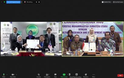 UMSU Gandeng MARDI, Malaysia Lakukan Penelitian Pertanian